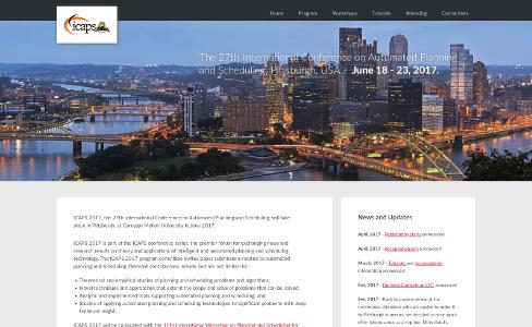 Website of ICAPS 2017